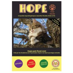 Dinde et Riz Natural  sans gluten - Hope Pet Food - croquettes chat adulte toute race