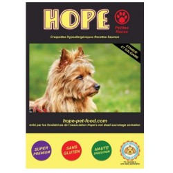 Saumon hypoallergénique super premium - Hope Pet Food - croquettes chien adulte petites races