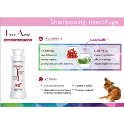 Shampoing insectifuge anti parasitaire bio pour chien Biogance naturel