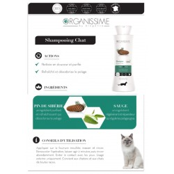 Shampooing Chat EcoSoin Bio Biogance Organissime