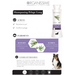 Shampooing Pelage Long EcoSoin Bio chien Biogance Organissime