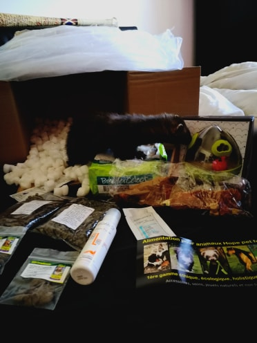 avis hope pet food box surprise furet