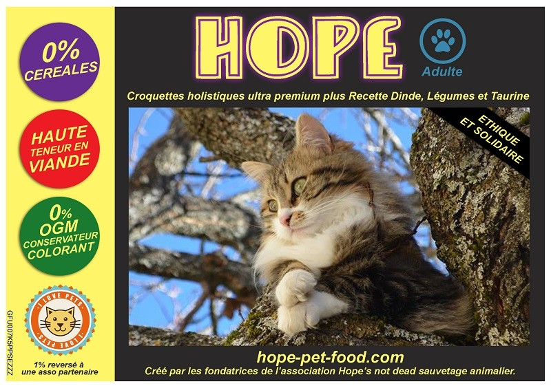 Croquettes Chats Hope Pet Food